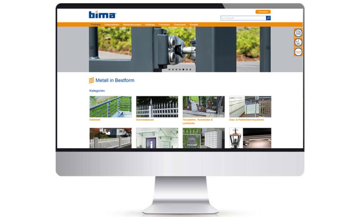 Bima Webshop – ISI agentur